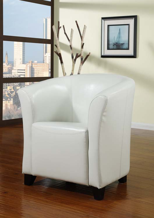 seattle tub chair white leather single seattle tub chair white
